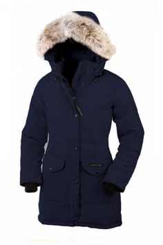 Canada Goose Trillium Parka Women Navy With Fast Delivery - $314.78