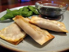 A Life Less Sweet: Meatless Monday - Baked Vegetable Wontons
