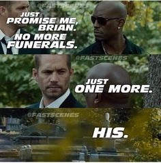 Funeral - Fast and Furious Furious Movie, The Furious, Fast And Furious Memes, Rip Paul Walker, Paul Walker Quotes, Simon Walker, Logos Retro, Vintage Logos, Dominic Toretto