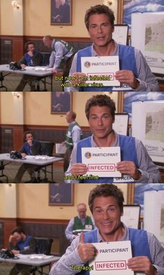 Funny Work Quotes Office Parks And Recreation 54 Best Ideas Parks And Recreation, Parks And Rec Memes, Tv Quotes, Work Quotes, Funny Quotes, Parcs And Rec, Film Serie, Work Humor, Best Shows Ever