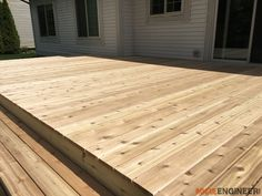 More click [.] Build A Decking Frame Ground Diy Floating Deck Plans Rogue Engineer 20 Rogue Engineer How To Build Floating Deck Rogue Engineer Floating Deck Plans, Building A Floating Deck, Deck Building Plans, Wood Deck Plans, Pergola Plans, Cool Deck, Diy Deck, Diy Patio, Freestanding Deck