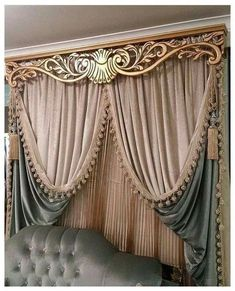 36 Gorgeous Romantic Master Bedroom Ideas - Page 15 of 36 - Ciara Decor Bedroom Design, Stylish Curtains, Curtains, Curtain Decor, Curtain Designs For Bedroom, Victorian Curtains, Home Curtains, Curtain Designs, Vintage Curtains