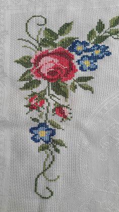Leaf Tattoos, Cross Stitch, Embroidery, Christian Christmas, Cross Stitch Fruit, Cute Cross Stitch, Softies, Cross Stitch Embroidery, Crochet Stitches
