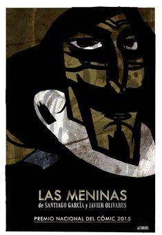 Poster for LAS MENINAS advertising.