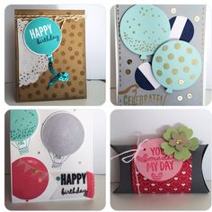 Celebrate Today cards from Stampin Up Occasions Catalog 2015
