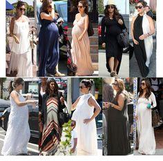 Kourtney Kardashian maternity style was better than most 'non-pregnant' women's style! Cute Maternity Outfits, Pregnancy Outfits, Maternity Wear, Maternity Fashion, Maternity Dresses, Pregnancy Style, Pregnancy Fashion, Maternity Styles, Baby Bump Style