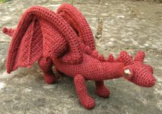 Dragonet Amigurumi Pattern PDF by lucyravenscar on Etsy Crochet Gratis, Crochet Dolls, Free Crochet, Afghan Crochet Patterns, Amigurumi Patterns, Knitting Patterns, Love Knitting, Double Knitting, Crochet Dragon Pattern