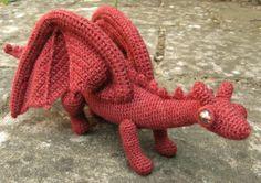 Large Stuffed Dragon | LucyRavenscar - Crochet Creatures: Dragonet Pattern