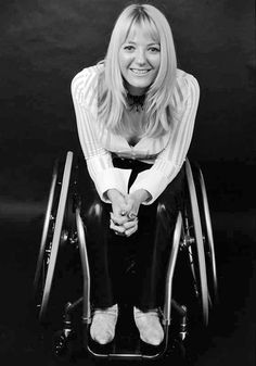 actress with osteogenesis imperfecta; founded The Disability Foundation; active on presentation of the disabled