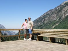 One of my favorite pics from our trip...from the observation deck at Snowbird.