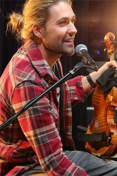 Concert rituals? Practice - from David Garrett