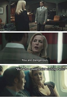 What is bedelia doing there?! Hannibal finale