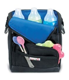 This is amazing! We use this all the time! Keeps bottles (or food) cold. Munchkin Cool Wrap Bottle Bag