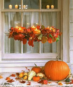 Марта Стюарт,декор,осень,флористика