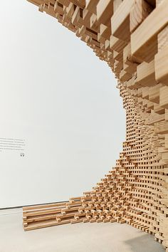 Part to Whole by HG-Architecture University Architecture, Brick Architecture, Amazing Architecture, Pavilion Architecture, Architecture Foundation, Museum Plan, Public Space Design, Timber Buildings, Timber Structure