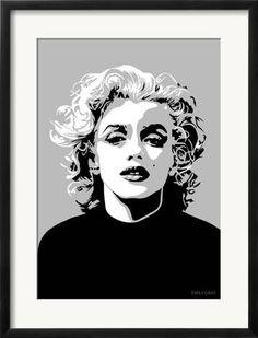 e2caa8ec01 Framed Art Print  Marilyn - Goodbye Norma Jean by Emily Gray   25x19in  Stampe Incorniciate
