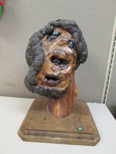 Art/Home Decor Unique Abstruct Male Bust by VintageHomeIrina, $120.00