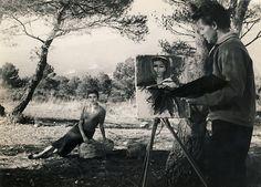 """Gérard Philipe & Anouk Aimée - """"Montparnasse 19"""" - Jacques Becker (1957)"""