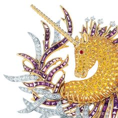Jean Schlumberger began designing his fantastical creations for Tiffany in 1956.