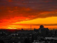 Sunset Frankfurt,Germany