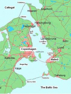 Copenhagen City, Copenhagen Denmark, Helsingor, Baltic Sea, Sweden, Bridge, Draw, Zoology, Travel