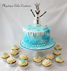 Una creación torta Olaf de Mystique