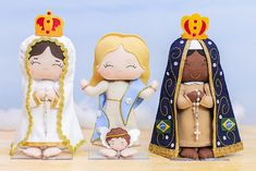 Catholic Crafts, Doll Patterns, Alice, Princess Zelda, Snoopy, Kawaii, Make It Yourself, Dolls, Fictional Characters