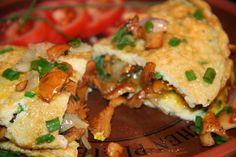 Godt og Sunt: Omelett med Kantareller - sopp