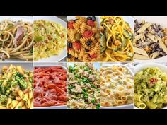 Pasta Dishes 10 Ways - Quick and Easy Italian Pasta Recipes by Benedetta Gnocchi, Italian Pasta Recipes, Broccoli Pasta, Rigatoni, Pasta Dishes, Risotto, Spaghetti, Food And Drink, Cooking