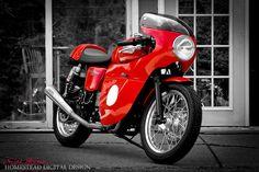Faired Triumph Thruxton