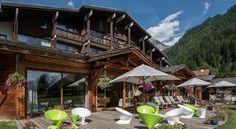 Terrasse #Summer #Relax Hôtel Les Grands Montets