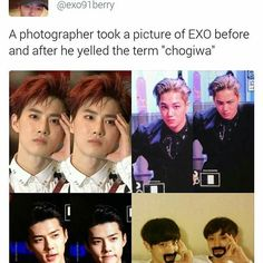 Sehun and Kai tho Funny Kpop Memes, Exo Memes, Exo Ot12, Chanbaek, Kyungsoo, Chanyeol, K Pop, Exo Facts, Xiuchen