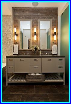 38 reference of vanity with lights wood#lights #reference #vanity #wood Best Bathroom Lighting, Light Fixtures Bathroom Vanity, Bathroom Vanity Designs, Rustic Bathroom Vanities, Modern Bathroom, Bathroom Ideas, Modern Vanity, Vanity Bathroom, Bathroom Shelves