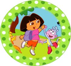 Free Dora the Explorer Party Ideas - Creative Printables