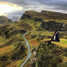 While touring the Isle of Skye found the perfect spot to stop for a cuppa! Scottish Holidays, Places To Travel, Places To Visit, Fairy Pools, Orkney Islands, Road Trip Adventure, The Beautiful Country, Beautiful Places, Edinburgh Castle