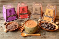 Traditionally inspired drinking chocolate made from Ecuadorian unroasted cacao. Organic, Vegan, Paleo, Non-GMO, Gluten & Dairy-free.