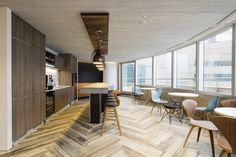 VMS Investment Group Headquarters by Aedas Interiors, Hong Kong