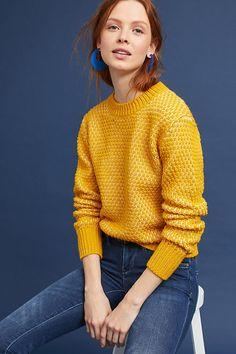 Slide View: 1: Chaud Sweater, Yellow