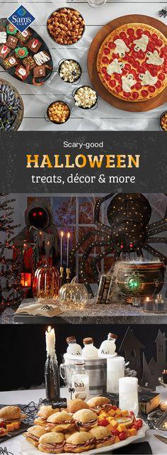 Find monster values on everything for your bash Halloween Supplies, Halloween Snacks, Halloween Food For Party, Halloween Trick Or Treat, Halloween Birthday, Holidays Halloween, Halloween Diy, Happy Halloween, Creative Food