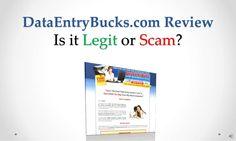 data-entrybucks-com-review-legit-or-scam by Sandeep Iyengar via Slideshare