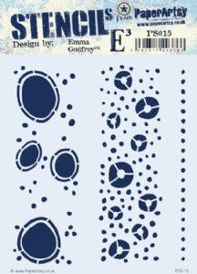 PaperArtsy Stencil - EEG 015
