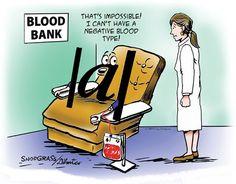 Valor absoluto... ¡con grupo sanguíneo negativo!