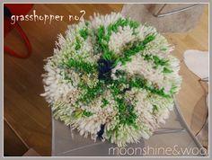 Stuhlauflagen - Stuhlkissen *GRASSHOPPER NO 2* - ein Designerstück von Moonshineandwool bei DaWanda