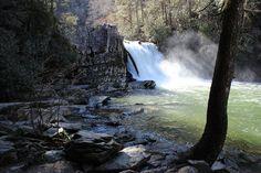 Abram's Falls, Cades Cove, Tennessee