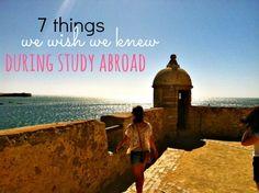7 Things We Wish We Knew for Study Abroad | U lala South Carolina