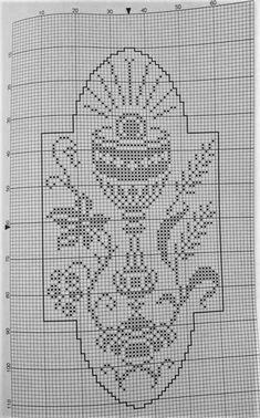 Tunisian Crochet Patterns, Filet Crochet Charts, Crochet Diagram, Crochet Stitches, Cross Stitch Pattern Maker, Cross Stitch Charts, Religion, Fillet Crochet, Cross Stitch Angels