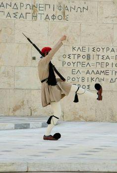 Evzon Presential Guard Athens Greece.
