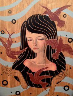 Audrey Kawasaki #art