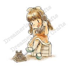 Rubber Stamps, Card Making & Scrapbooking Unicornios Wallpaper, Cartoon Wallpaper, Girly Drawings, Colorful Drawings, Baby Drawing, Painting & Drawing, Baby Cartoon, Cute Cartoon, Hello Spring Wallpaper