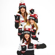 Our #RedMittens are back! Excited to have the amazing Dufour-Lapointe sisters as are our official ambassadors & we're proud to continue supporting the @cdnolympicteam. Get your #RedMittens today!